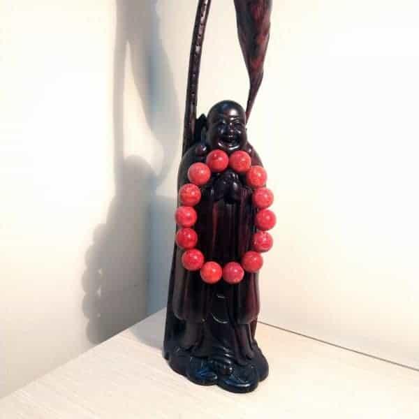 Vòng hạt đeo tay nam/nữ phong thủy -sức khỏe tài lộc từ  đen/đỏ