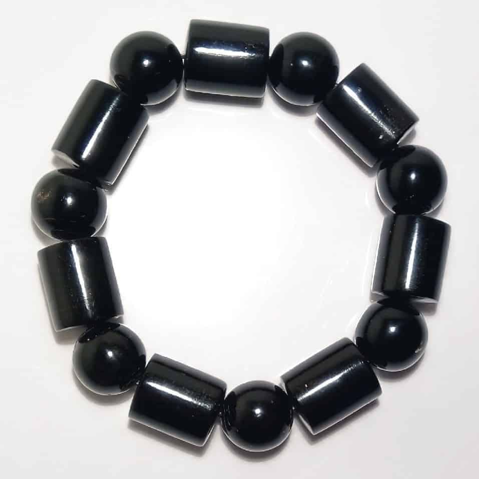 Vòng hạt đeo tay nam/nữ phong thủy -sức khỏe tài lộc từ  đen/đỏ - 6