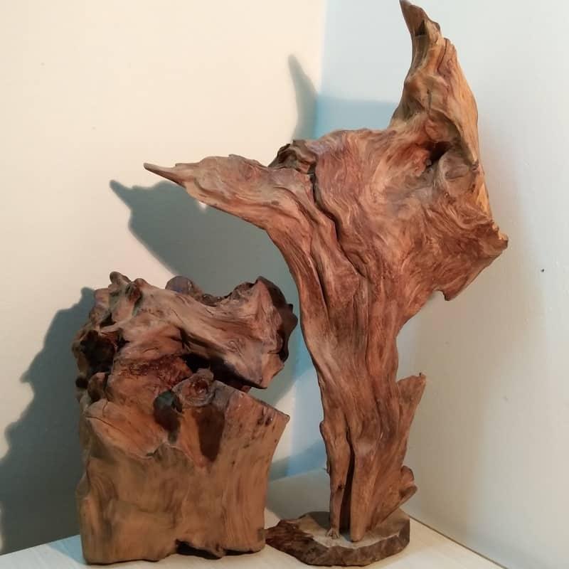 Tiểu cảnh gỗ lũa ngọc am Combo số 3